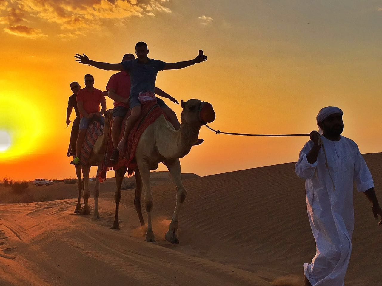 Desert Safari + Camel Ride