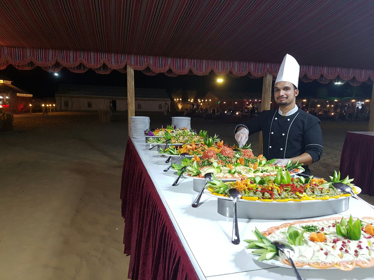 Dinner at Desert