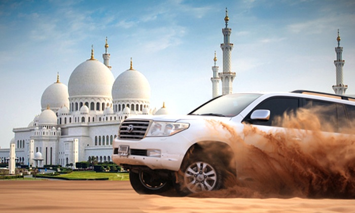 Dubai City Tour + Abu Dhabi City Tour + Desert Safari
