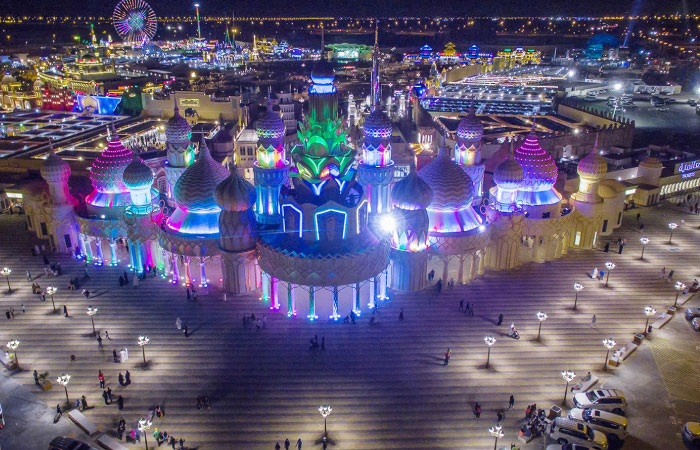Dubai Global Village Safari In Uae